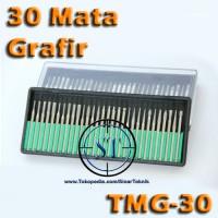 harga 30 Mata Grafir Isi Ulang Engraving Tip Alat Ukir Mengukir TMG-30 Tokopedia.com