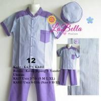 Baju Koko Anak LaBella Usia 8-12 Tahun (KA812-KJY-0612)