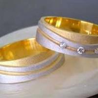 cincin perak lapis emas untuk tunangan kd78