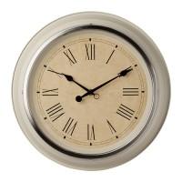 Ikea Skovel ~ Jam Dinding Krem 32Cm Stainless Steel   Beige Wall Clock
