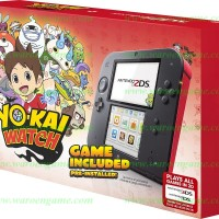 Nintendo 2DS Console Crimson Red Yo-kai Watch Bundle (Pre-Installed)