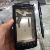 harga Casing+Touchscreen+trackpad BB Blackberry Monza 9860 Monaco 9850 Hitam Tokopedia.com