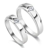 Cincin Kawin Tunangan Couple Berlian
