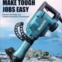 MAKITA HM 1306 DEMOLITION HAMMER 30 Mm / MESIN BOBOK JALAN & BETON