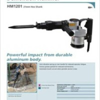 MAKITA HM 1201 DEMOLITION HAMMER 21 Mm / MESIN BOBOK JALAN BETON