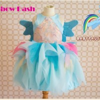 Rainbow Dash Dress / Little Pony Dress / Party Dress