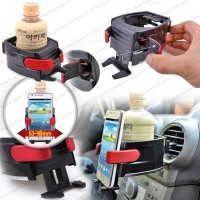harga Car Mount Air Vent Holder Mobil 4 Hp Smart Phone 4-5.5 In Botol Kaleng Tokopedia.com