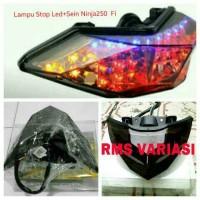 LAMPU STOP LED+SEIN 3in1 Motor Ninja 250 fi/injeksi & Z 250