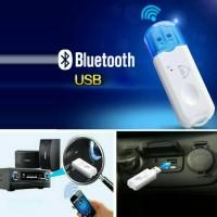 harga Car Wireless Bluetooth Adapter Music + Call Audio Receiver Tape Mobil Tokopedia.com