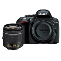 NIKON D5300 WITH AF-P DX NIKKOR 18-55MM F / 3.5-5.6G VR KIT