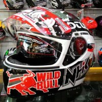 Helm NHK Terminator Mark Marquez Fullface Lotus Double Visor Full Face