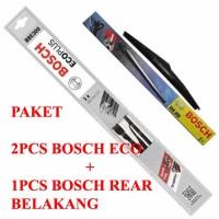 harga WIPER BOSCH ECO PLUS ERTIGA 3Pcs (kn-kr dan belakang) Tokopedia.com