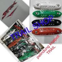 harga Pelindung Knalpot Racing Buat Motor Trail Tokopedia.com