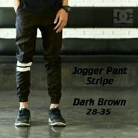 Celana Pria Celana Cowok  Celana Jogger Pants Strip