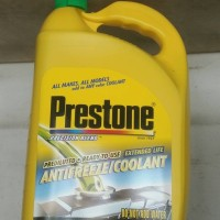 Prestone radiator coolant (imported)
