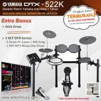 Drum Elektrik Yamaha DTX522 / DTX522K / DTX 522 / DTX 522K