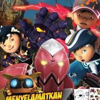 Story Coloring Boboiboy The Movie 2 : Menyelamatkan Sfera Kuasa
