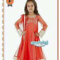 harga Baju anak cewe model sari india wrn orange (SIZE BESAR) Tokopedia.com