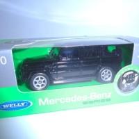 Diecast Jeep Mercy G-Clas 1:60 Wellynex
