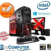 CPU Komputer Pc Gaming Intel Intel high Pro Termurah - Paket C