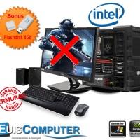 CPU Komputer Pc Gaming Intel Medium Pro Termurah - Paket F