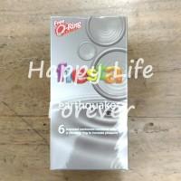 Fiesta Earthquake isi 6 - kondom kontrasepsi