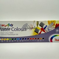 Pentel Water Colour 24 Warna / Cat Air Merk Pentel 24