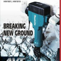 MAKITA HM 1810 AVT ELECTRIC BREAKER 28,6 M / MESIN BOBOK JALAN & BETON