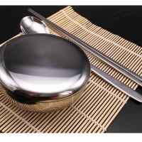 Korean Rice Bowl - Stainless Stainless | Mangkuk nasi Korea