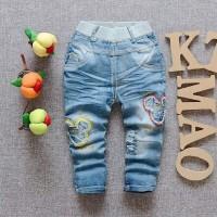 Celana Jeans Mickey Riped