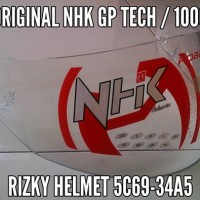 KACA HELM VISOR NHK GP TECH / 1000