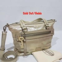 harga Tas Authentic FOSSIL Dawson Gold Original Asli Tokopedia.com