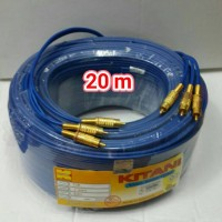 harga kabel RCA AV DVD TV PARABOLA AUDIO VIDEO 20M Tokopedia.com