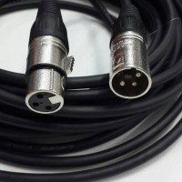 kbl audio mixer 10m canon male to canon female (kabel mic CANARE)