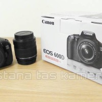 PROMO!! NEW KAMERA DSLR CANON EOS 600D LENSA KIT EF-S 18-55MM IS II