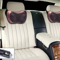 CAR AND HOME MASSAGE PILLOW BANTAL PIJAT LEHER PUNGGUNG PORTABLE