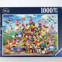 Jigsaw Puzzle Ravensburger : Disney Carnival - 1000 pieces