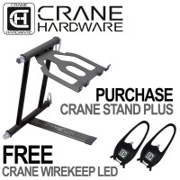 CRANE Stand Plus Laptop Stand Graphite | CRANEStand, Laptop Stand