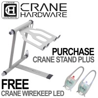 CRANE Stand Plus Laptop Stand White | CRANEStand, Laptop Stand