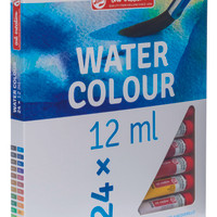TALENS ART CREATION WATERCOLOUR SET 24 X 12 ML