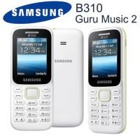 Handphone Samsung B310 Guru Music 2 | Smart Dual SIM | FM Radio, FM