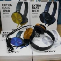 harga Sony Mdr-Xb450ap / Headset Xb-450 / Earphone Tokopedia.com