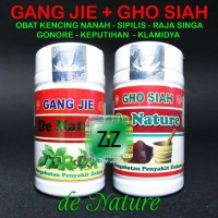 Gang Jie Gho Siah De nature Obat Sipilis Singa Infeksi Kencing Nanah