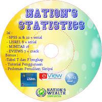 PROGRAM STATISTIK UNTUK PENELITIAN DAN SKRIPSI (SPSS, LISREL & EVIEWS)