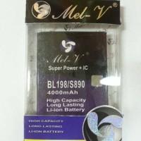 Baterai Double Power MEL-V BL198/Lenovo S880-S890-A850-A859-K860