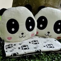 Jual Bantal Selimut (balmut) Lovely Panda Murah