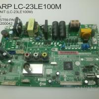 MAINBOARD MESIN TV LED SHARP LC-23LE100M