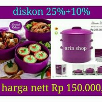 Big Sale Steam It Tupperware Ungu