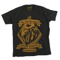 Until Lamb Becomes Lion, Kaos Distro brand Evensteven/ kaos laki laki