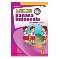 buku soal kelas 5 SD MANDIRI BAHASA INDONESIA KTSP 2006 ERLANGGA